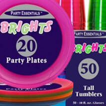 Brights Party Supplies