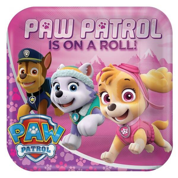 Pink Paw Patrol Party Supplies