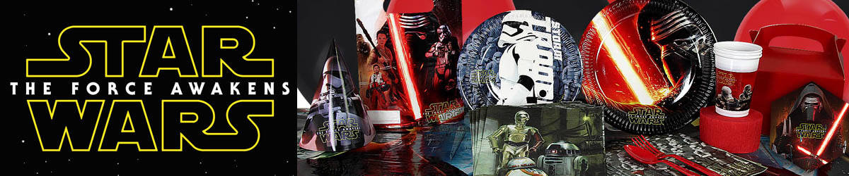 Star Wars™ The Force Awakens Party Supplies