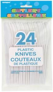 Plastic Knives - 24PK