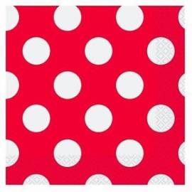 Red Dots Napkins