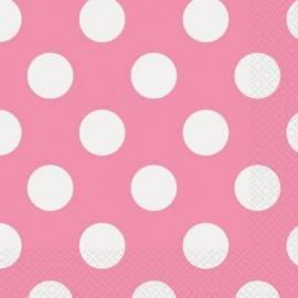 Pink Hot Dots Napkins