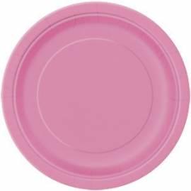 Plain Hot Pink Plates