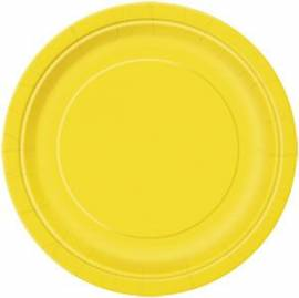 Plain Yellow Plates