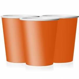 Plain Orange Cups