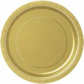 Plain Gold Plates