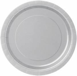 Plain Silver Plates