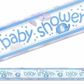 Baby Shower Blue Banner