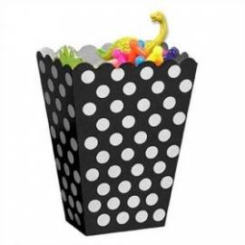 Treat Boxes Black Dots