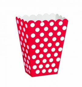 Treat Bags Red Dots