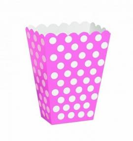 Treat Boxes  Pink Dots