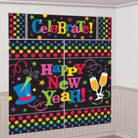 NYE Giant Wall Decorating Kit