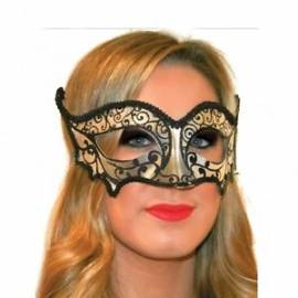 Fangtastic Silver and Black Mask