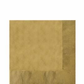 Gold 2 ply napkins