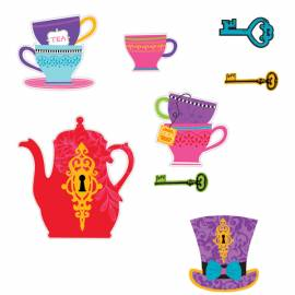 Mad Hatter Tea Party Cutouts