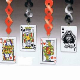 Casino dangling cut outs