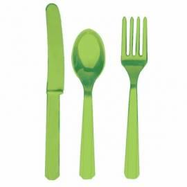 Kiwi Green Cutlery Assortment
