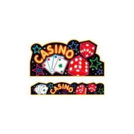 Casino Cutout and Banner Set
