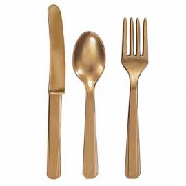 Gold Cutlery Assortment