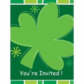 Saint Paddys Day Invites