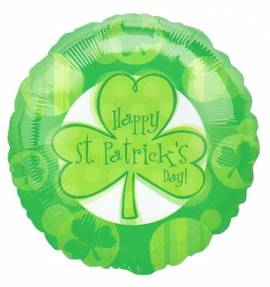 Happy Saint Patricks Day Foil