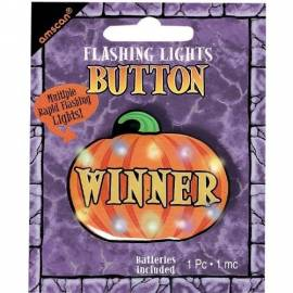 Flashing Pumpkin Winner Button