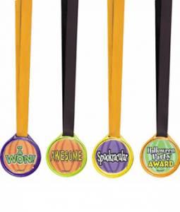 Halloween Award Medals