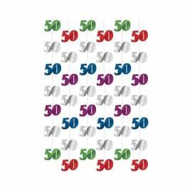 50th Foil String Decoration