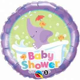 Baby Shower Elephant Foil Balloon