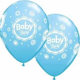 Baby Boy Dots Balloons
