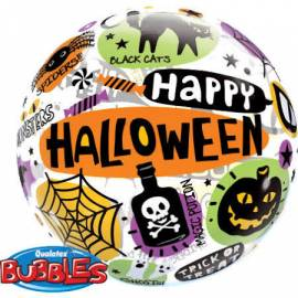 Happy Halloween Bubble Balloon