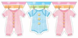 Baby Shower Clothes Bunting