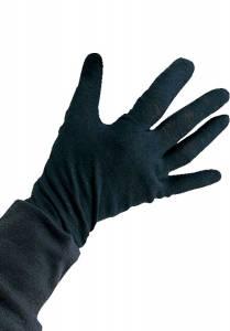Black Cotton Child Gloves