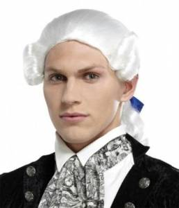 Royal Grand White Wig