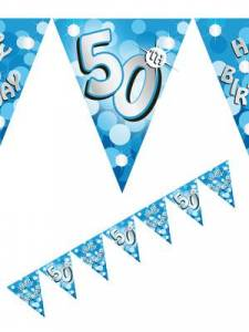 50th blue bunting
