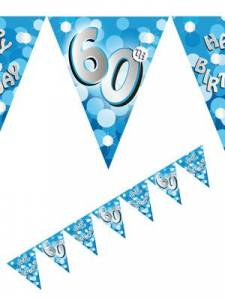 60th blue bunting