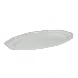 White Plastic Platter - 2PK