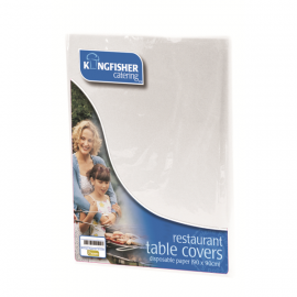 White Paper Tablecovers 4PK