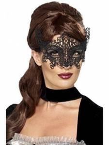 Lace Filigree Swirl Mask