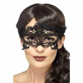 Black heart Filigree mask