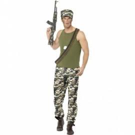 Mens Economy Army Costume