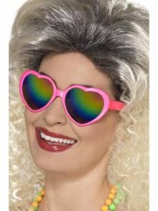 Pink Heart Specs