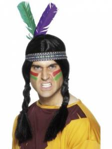 Indian Feathered headband