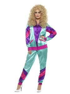 80s Ladies Shell Suit Costume