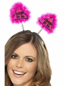 pink Bride to be Boppers