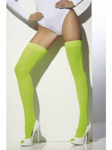 Neon Green Opaque Hold-Ups