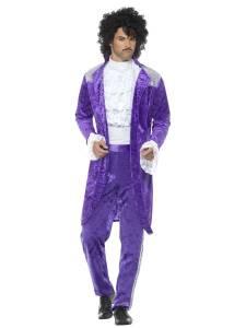 80s Purple Musician Costume