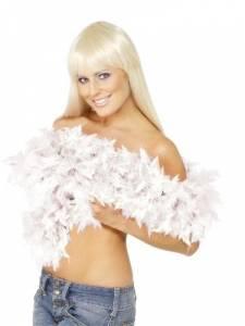 White Feather Boa 50g