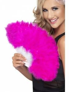 Marabou Pink Fan