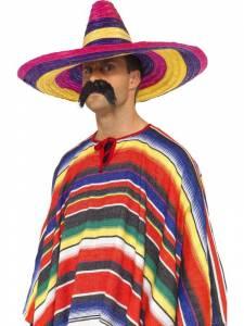 Large Multi Coloured Sombrero